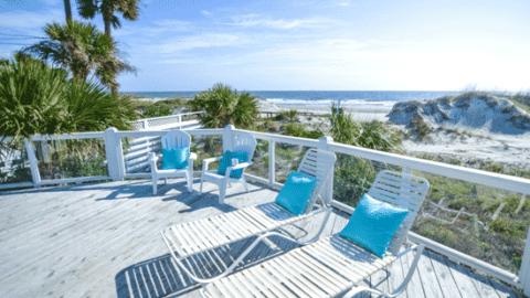 1 18th Street Tybee Island Oceanfront Cottage Rental