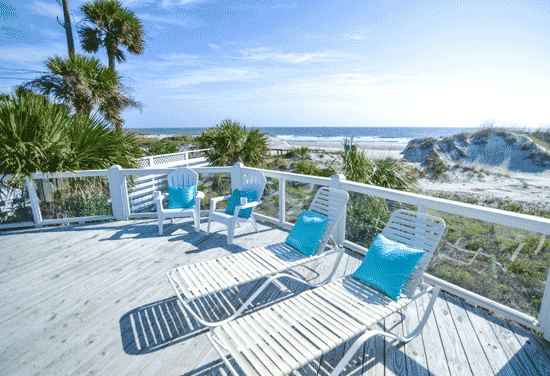 1 18th Street Tybee Island Oceanfront Cottage Rental