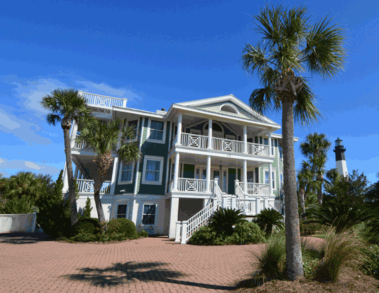 102 Casa Verde Oceanfront Cottage Als Own Modern Beach Mansion With Private Pool Tybee Island