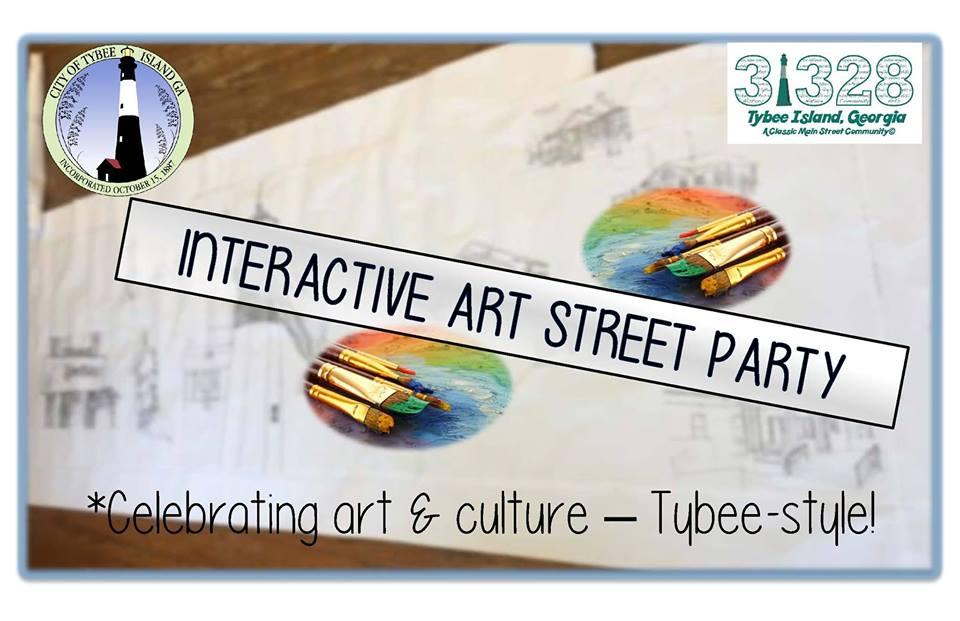 Tybee Interactive Art Party