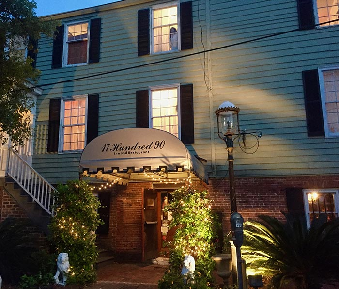 17hundred90 hosts one five famous Savannah spirits