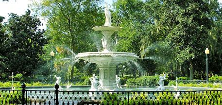 Forsyth Park - Savannah Georgia