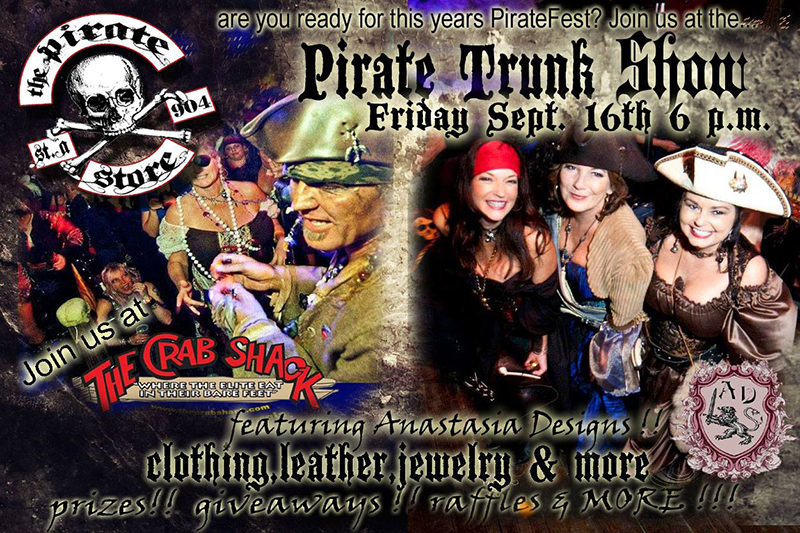 2016 Pirate Fashion Trunk Show