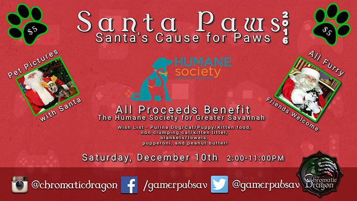 2016 Santa Paws Savannah