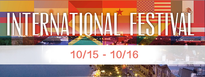 2016 Savannah International Festival on River Street