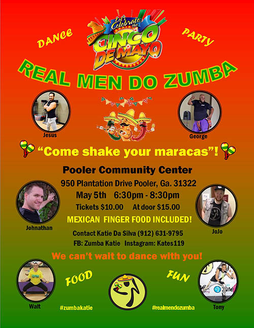 2017 Cinco De Mayo (Real Men Do Zumba) Party