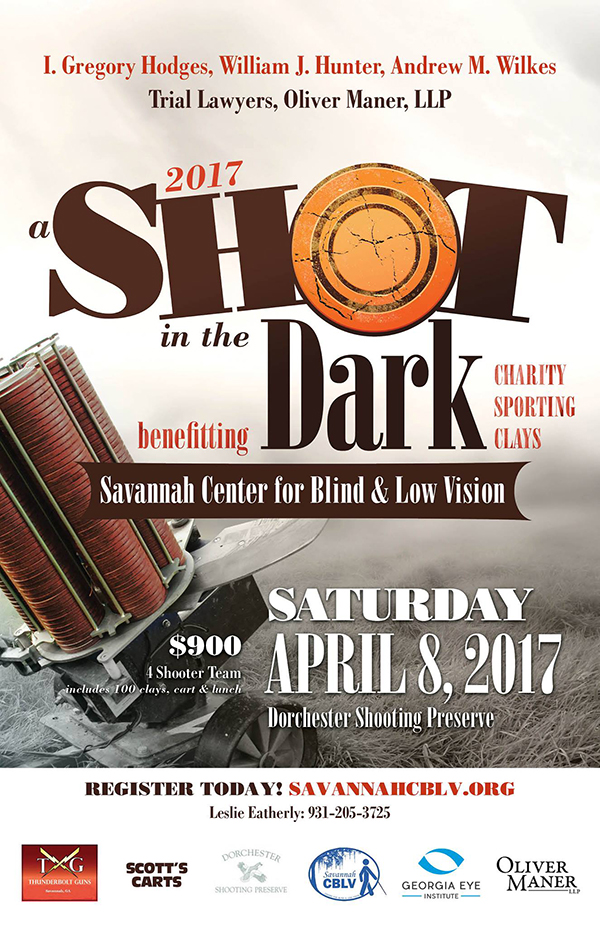 Annual Shot In The Dark Charity Sporting Clays Shoot