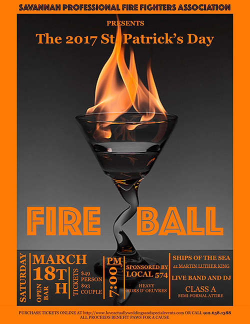 St. Patrick's Day Firefighter's Charity Fire Ball