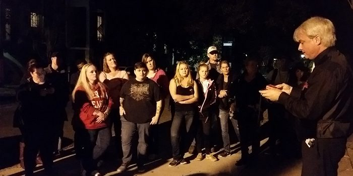 6th Sense Ghost Tour with Patrick Burns