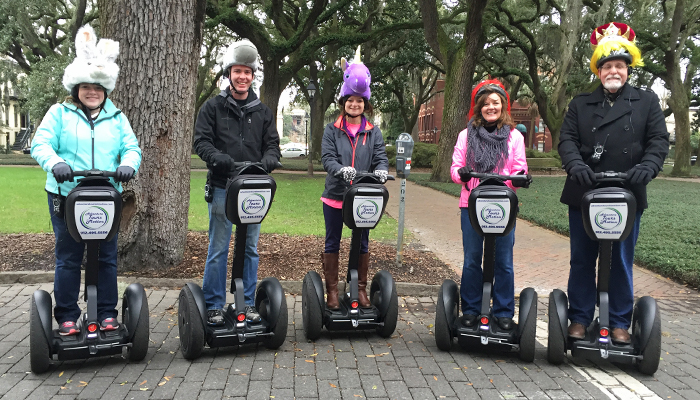 Adventure Tours in Motion Segway Tours