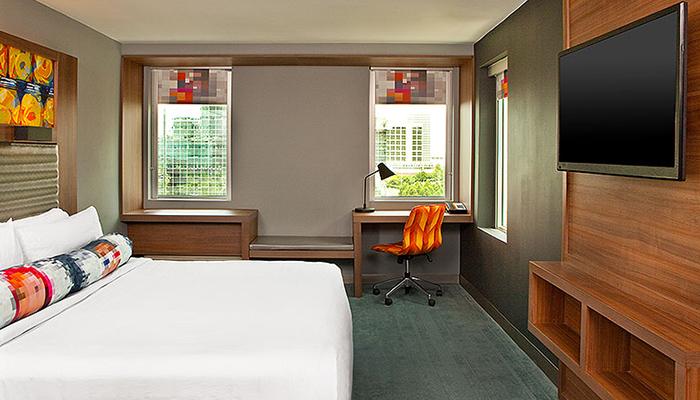 Aloft Hotel Guestroom