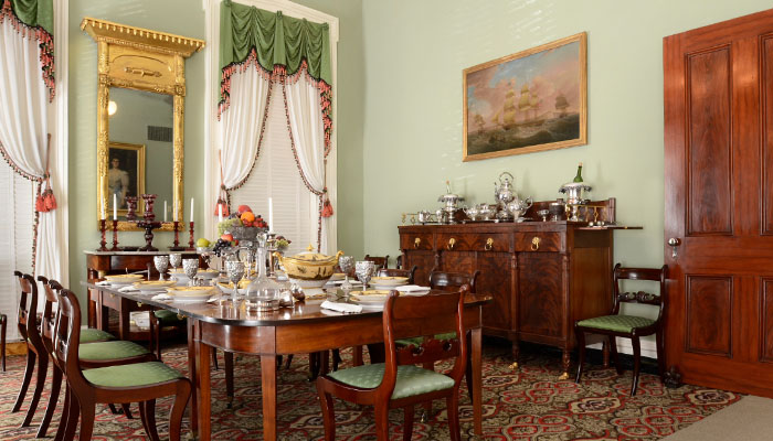 Andrew Low House Brings History To Life