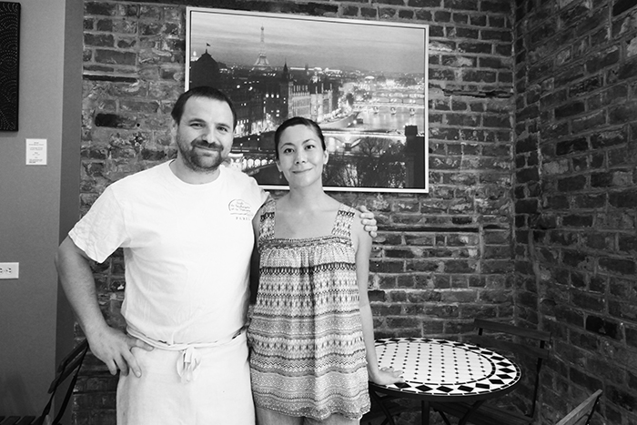 Angela and Alexandre Le Café Gourmet