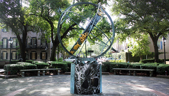 Armillary Sphere in Troup Square