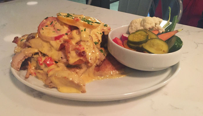 Atlantic Hot Brown