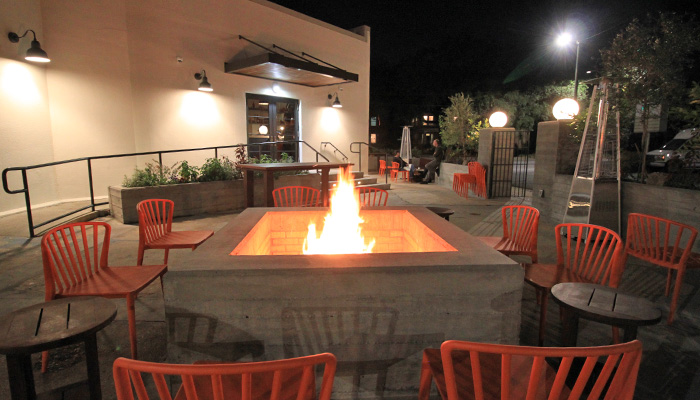 Atlantic Savannah Outdoor Firepit