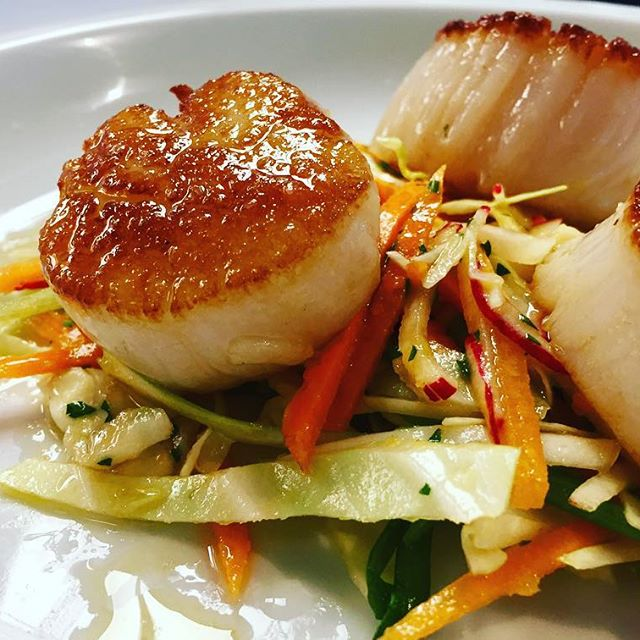Atlantic Seared Scallops