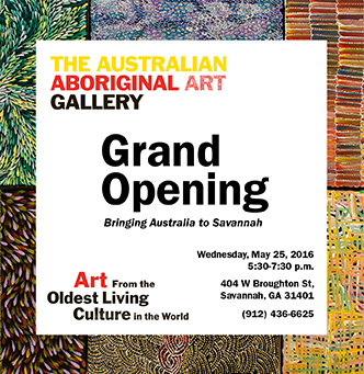 Australian Aboriginal Art Gallery Grand Opening
