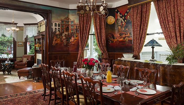 Azalea Inn Dining Room