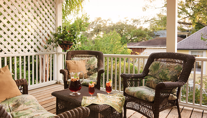 Azalea Inn Porch