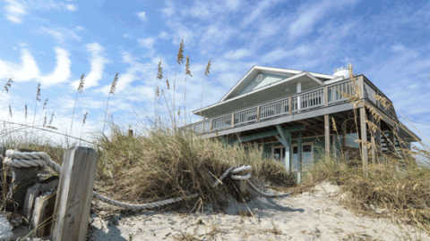 Bella Luna Tybee Island Oceanfront Cottage Rental