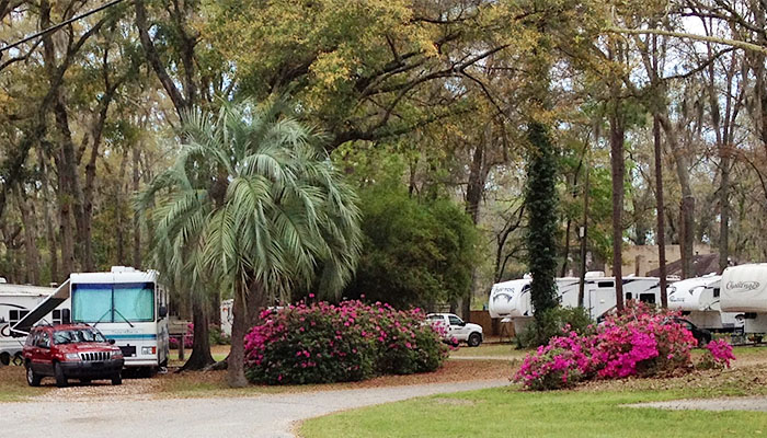 Biltmore RV Park in Savannah Georgia