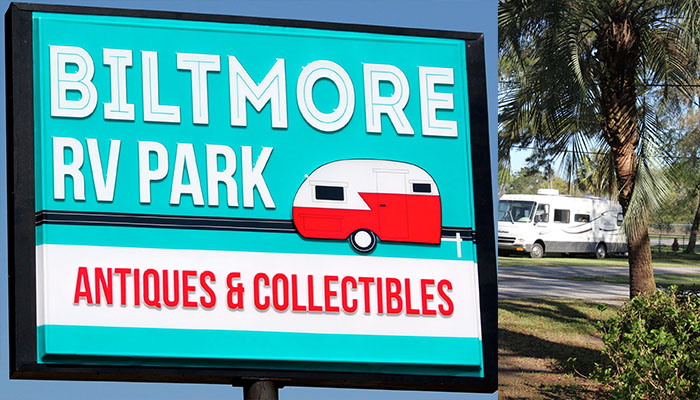 Biltmore RV Park in Savannah