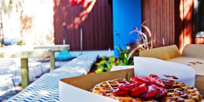Blue Door Waffle