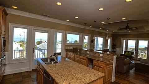 Blue Sky Tybee Island Oceanfront Cottage Rental