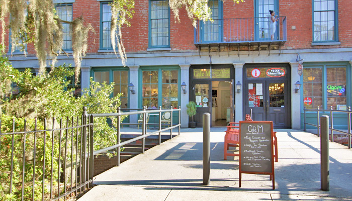 Cafe M on Upper Factors Walk in Savannah