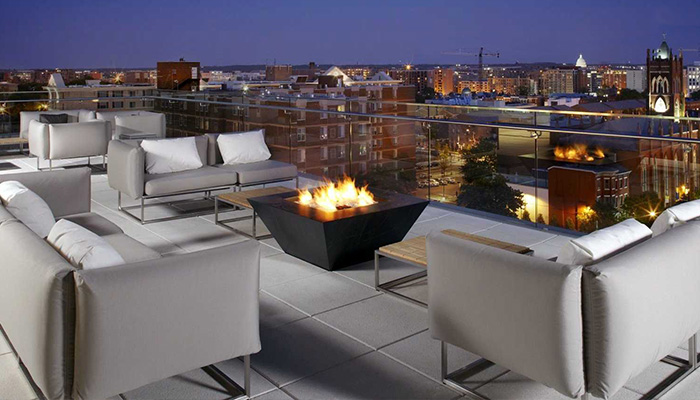 Cambria Suites Rooftop Bar in Washington DC