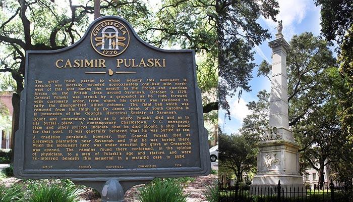 Casimir Pulaski Monument