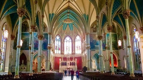 Cathedral of St John the Baptist in Savannah