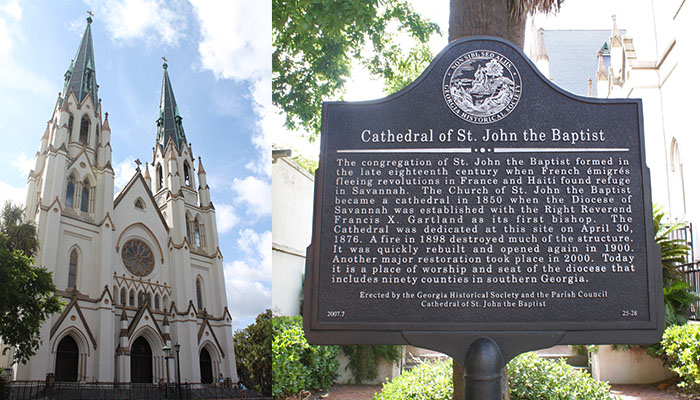 Cathedral of St. John the Baptist off LaFayette Square