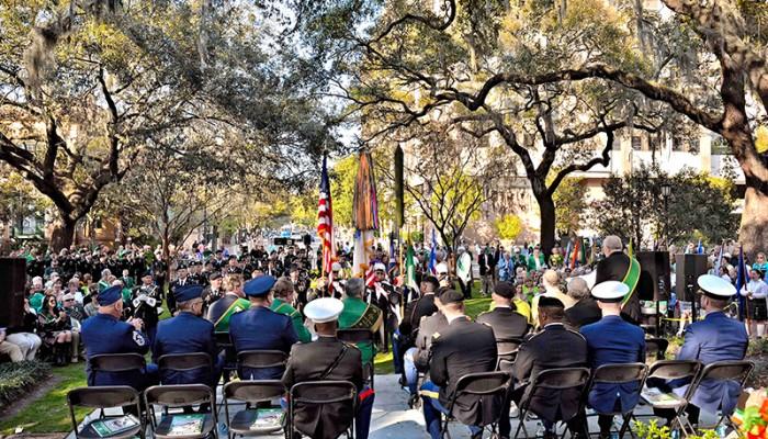 Celtic Cross Ceremony in Savannah