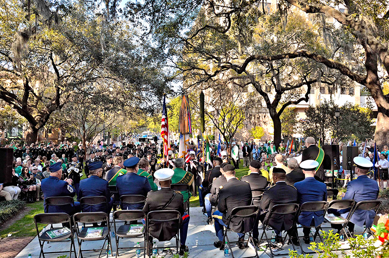 Celtic Cross Ceremony in Savannah