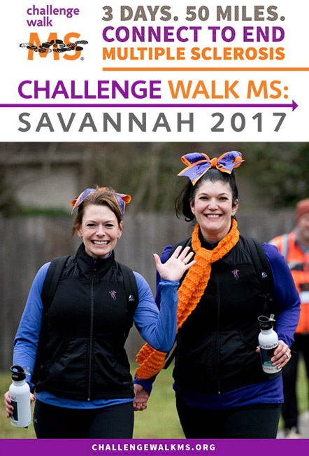Challenge Walk MS Savannah 2017