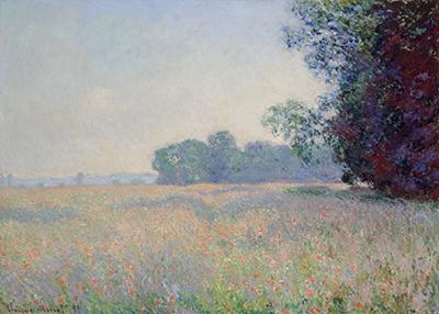 Champ d'avoine by Monet