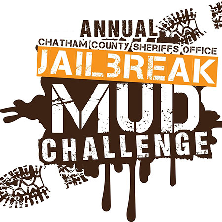 Chatham County Sheriff's Office Jail Break Mud Challenge