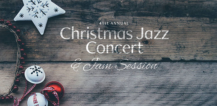 Coastal Jazz Association's 41st Christmas Jazz Concert and Jam Session
