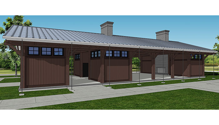Creekfire RV Park rendering