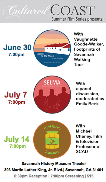Cultured Coast 2016 Summer Film Series