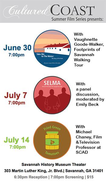 Cultured Coast 2016 Summer Film Series