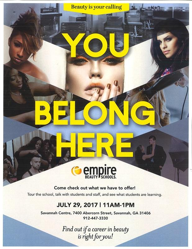 Empire Beauty School Open House