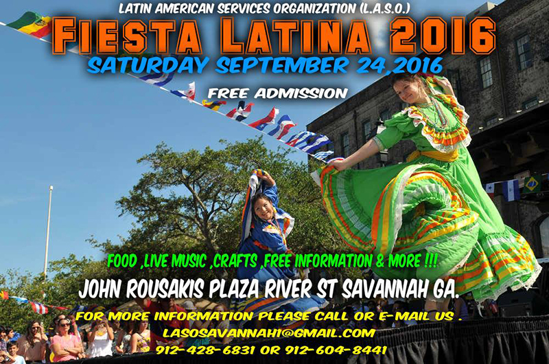 Fiesta Latina Savannah 2016