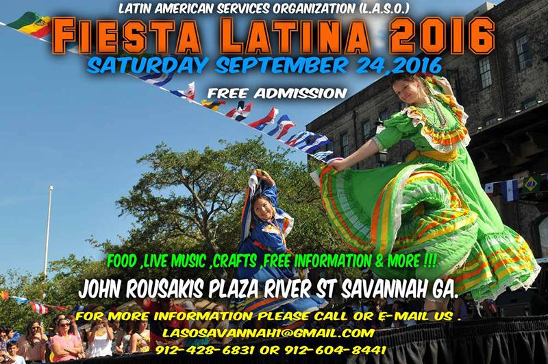 Fiesta Latina Savannah 2016