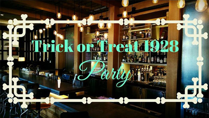 Five Oak Taproom Trick or Treat 1928 Party
