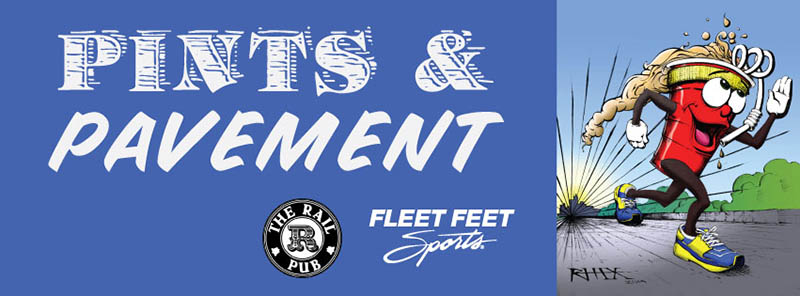 Fleet Feet Sports Pints and Pavement in Savannah