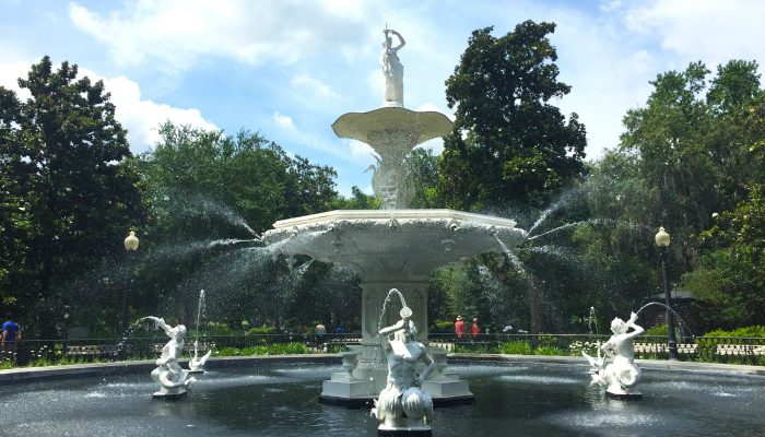 Forsyth Park Fountain in Savannah