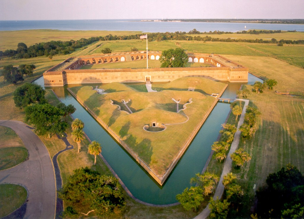 Fort Pulaski Aerial Photo